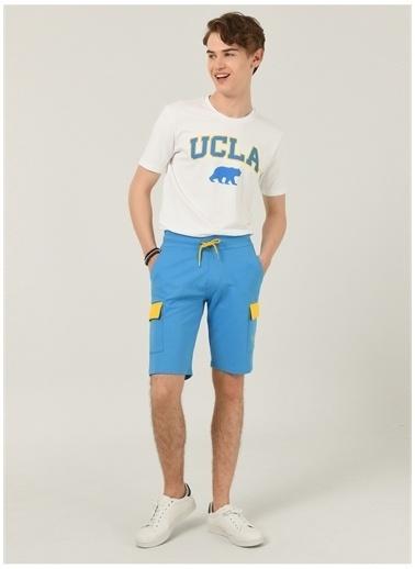 UCLA Ucla Sweat Şort Mavi